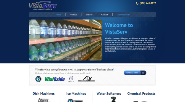 VistaServ has everything you need to keep you place of business clean